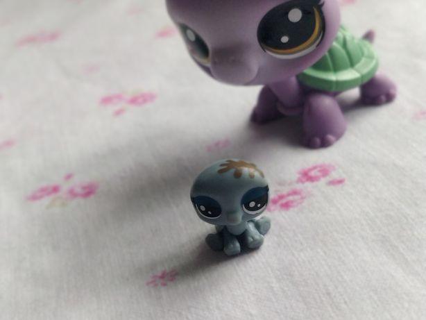 Littlest Pet Shop - LPS - Hasbro -  Mały mini żółwik żółw baby dziecko