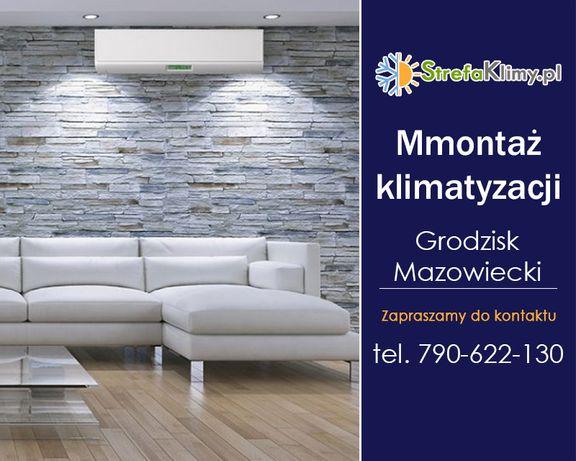 Montaż klimatyzacji Grodzisk Mazowiecki - W domu, biurze, mieszkaniu,