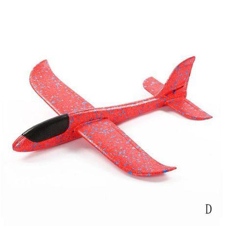 Samolot STYROPIANOWY Szybowanie Rzutka