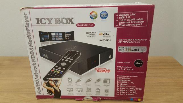 Icy Box IB-MP3011 PLUS 1,5TB odtwarzacz multimedialny