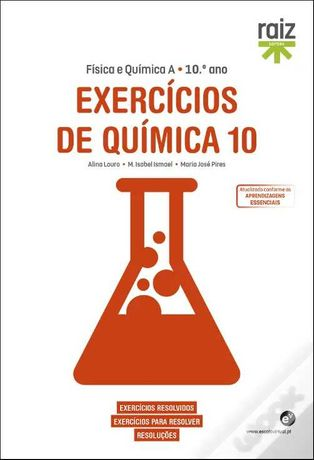 Exercícios de Química 10 - Física e Química A - 10.º ano