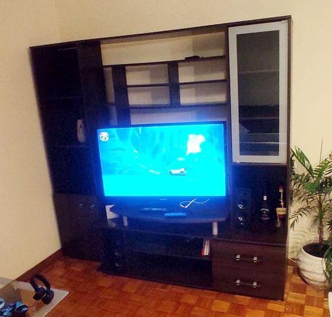 Móvel de TV cor wengue