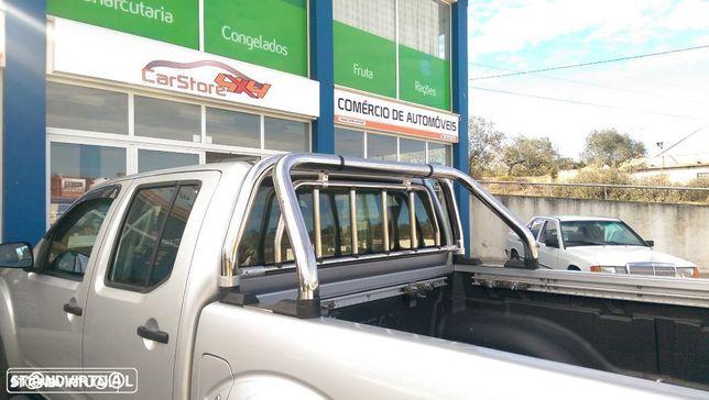 Rollbar Inox Nissan Navara D40 C Proteção Vidro