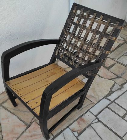 cadeira para relaxar antiga