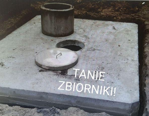 Zbiornik Betonowy Szambo Deszczówka Piwniczka Gnojowica Gnojówka