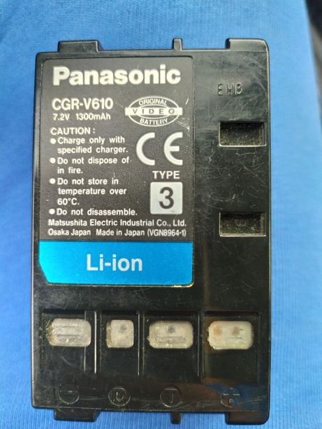 Аккумулятор для Panasonic CGR-V610