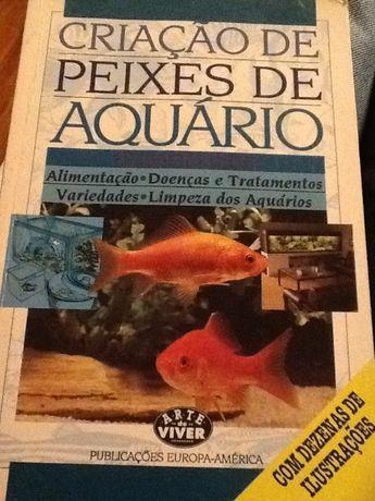 Criação de Peixes de Aquário -Reginald Dutta - Pub.Europa America -
