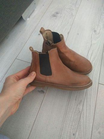 Кожанные ботинки ( челси )