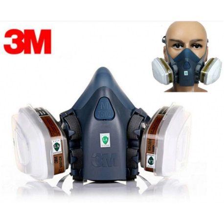 Маска респиратор 3М 7502 фильтры 6001