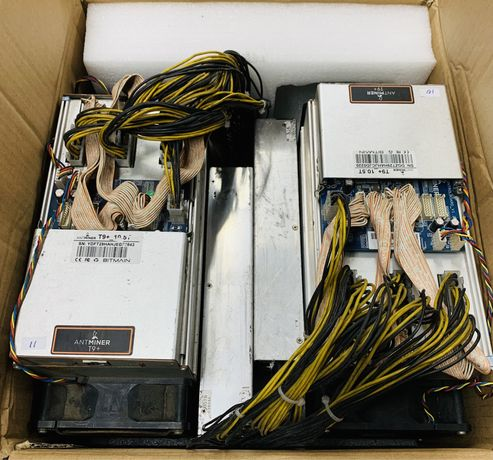 Antminer T9+ 10,5Th C/Fonte