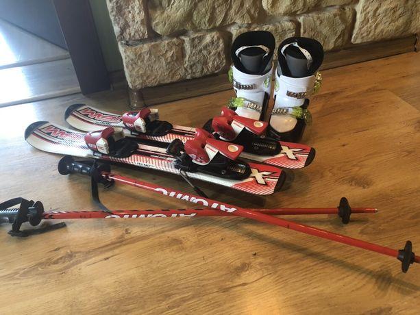 Sprzęt narciarski dla dziecka