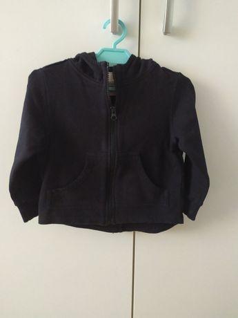 Sinsay czarna bluza z kapturem 92