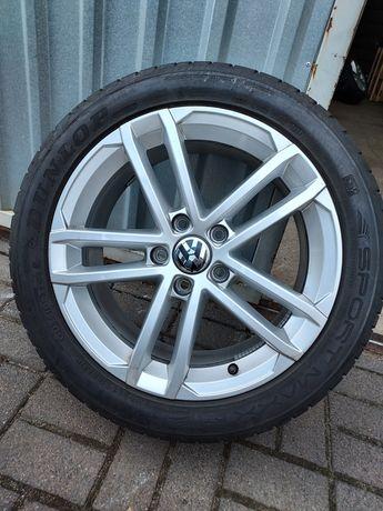 Fabryczne Koła VW GOLF GTI R-line 225/45R17 Dunlop 9mm Jak Nowe