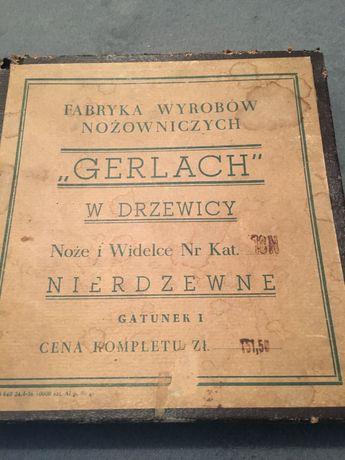 Sztućce PRL Gerlach