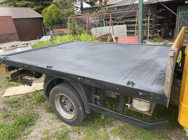 Mercedes 814 vario 2005 brygadowka pneumatyka 4 tony ladownosci