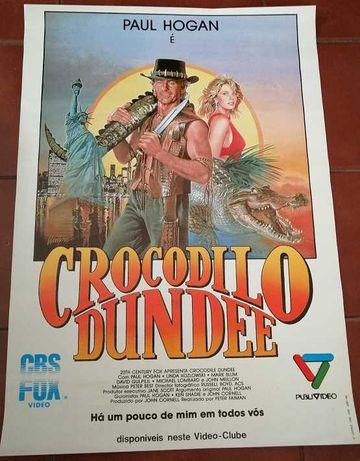Poster Paul Hogan – Crocodilo Dundee