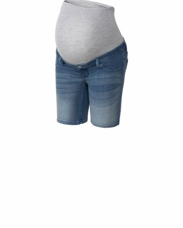 Spodenk ciążowe 36 s jeans jeansowe