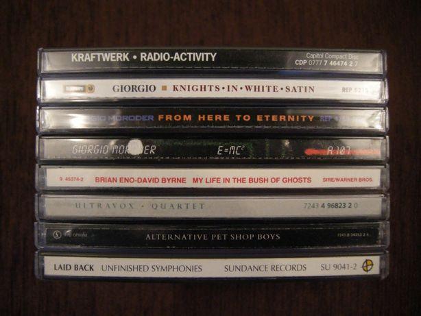 CD Kraftwerk Giorgio Moroder Eno Byrne Laid Back Pet Shop… фирменный