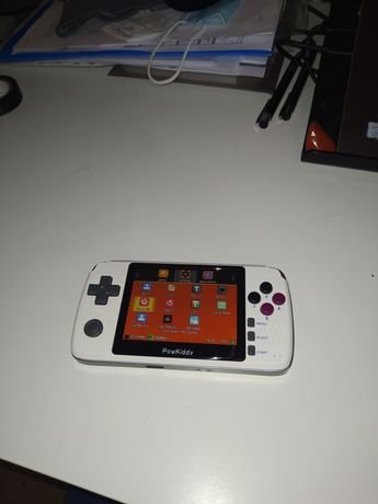 Powkiddy Playgo konsola przenośna ps1 PlayStation SNES gameboy bittboy
