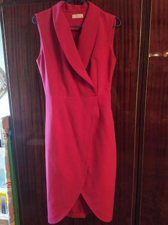 Сукня малинового кольору