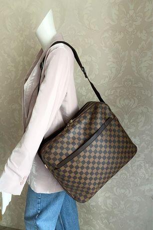 Louis vuitton оригинал италия дорожная сумка ручная кладь мессенджер