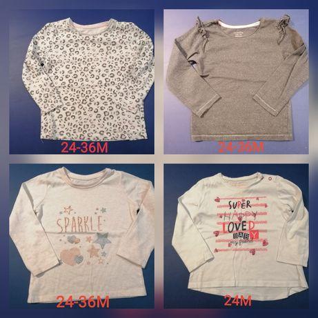 T-shirts manga comprida T24-36M