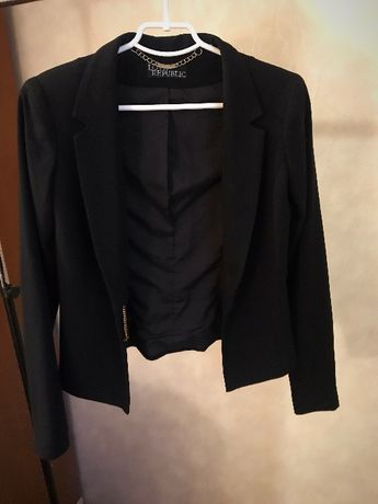 Продам женский чёрный жакет,пиджак Zara, Love Republic