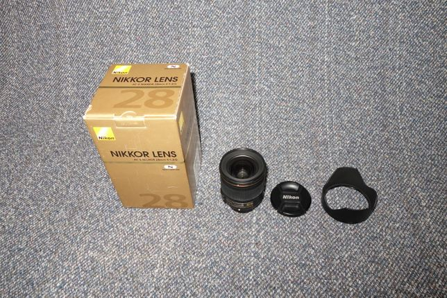 Nikon Nikkor 28mm 1.8g Nano Crystal coat
