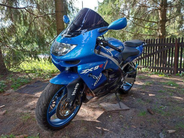 Kawasaki zx9r zamienię honda transalp