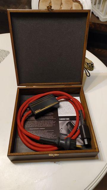 Audiomica jasper reference TFCT 2m kabel zasilający 50% ceny!!