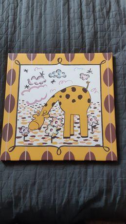 Obrazek z żyrafą