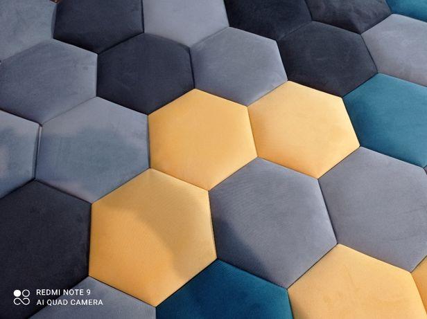heksagon Panele tapicerowane wnęki sypialnie na wymiar dla dzieci