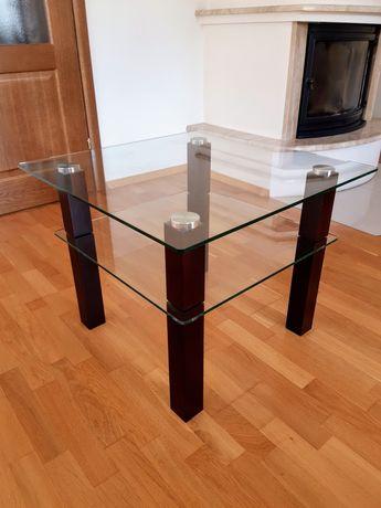 Szklany stolik kawowy/RTV - stan idelany