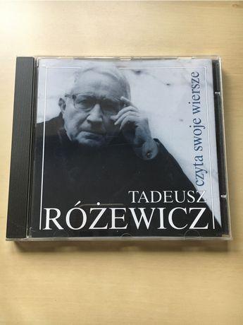 Tadeusz Różewicz czyta swoje wiersze płyta CD