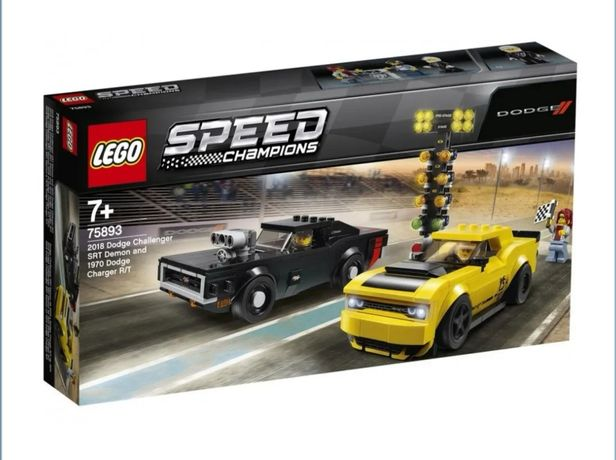 Klocki LEGO SPEED CHAMPIONS 75893 Dodge Challenger SRT i Dodge Charger