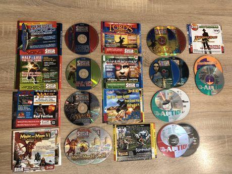 Świat Gier Komputerowych Płyta CD Action 1999 i 2000