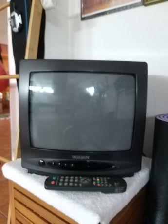 TV a funcionar na perfeição,  c/comando