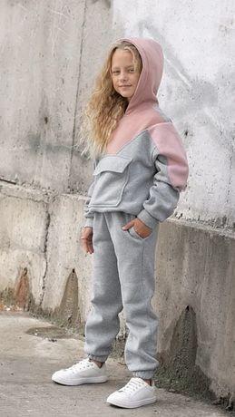 Спортивный костюм на девочку на байке 122-158 см