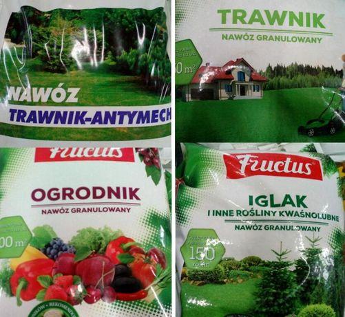 Nawozy ogrodnicze Trawnik Iglak Ogrodnik