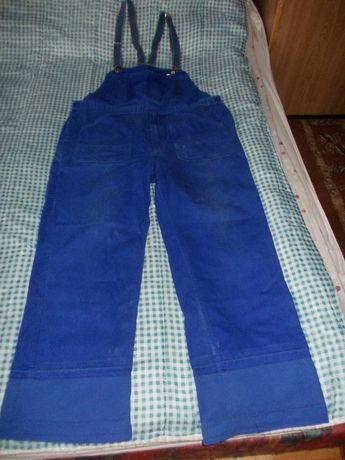 Odzież ochronna - kombinezon męski ciemny niebieski