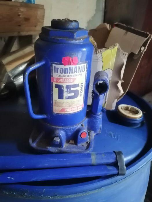 Домкрат IronHand 15 тонн Львов - изображение 1