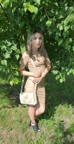 Платье женское на змеечке