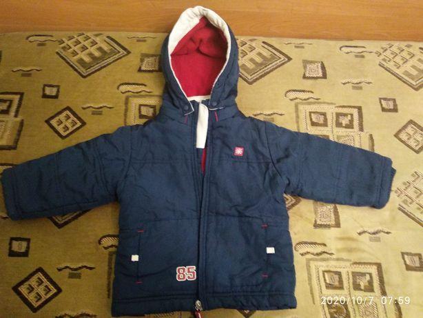 Куртка осенняя,утепленная. Baby club,оригинал.