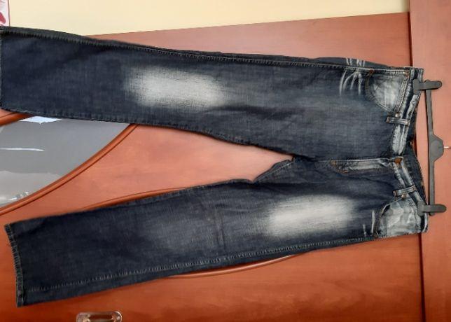 Wrangler, nowe spodnie! Jeans przecierany, rozm 34/34.