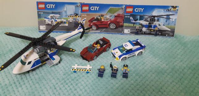 Оригинал Лего LEGO City Стремительная погоня 294 детали (60138)