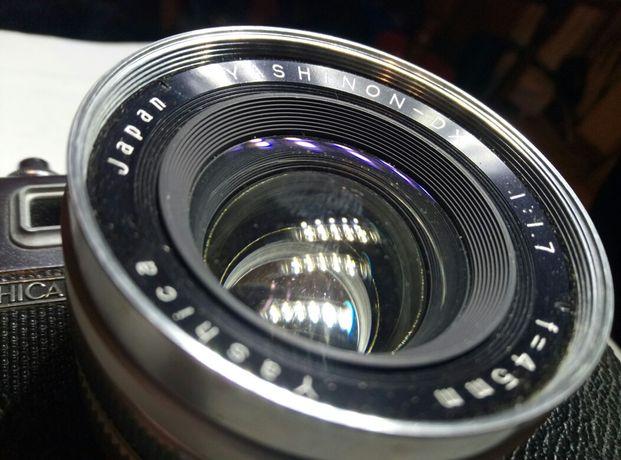 Фотоаппарат Yashica35 Yashinon DX 45mm f1,7