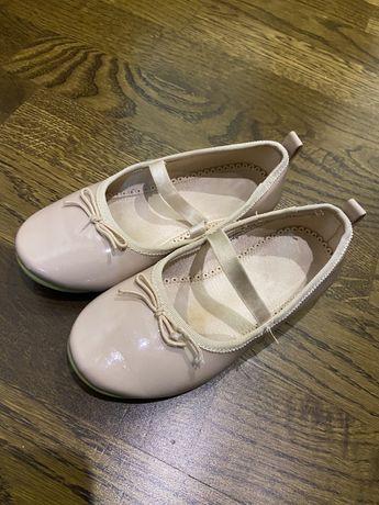 Туфельки-балетки h&m 17,5 см