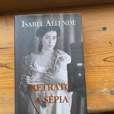 Livro o Isabel Allende - retrato de sépia