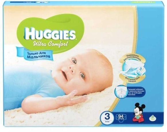 Подгузники для мальчика Huggies Ultra Comfort,80 шт.