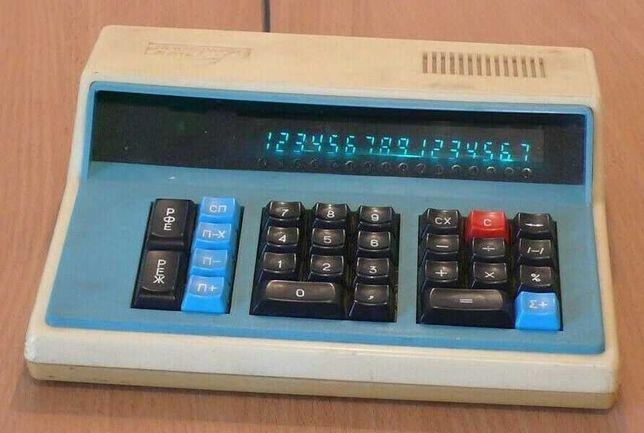 Калькулятор Электроника МК-59 рабочий СССР советский коллекционный